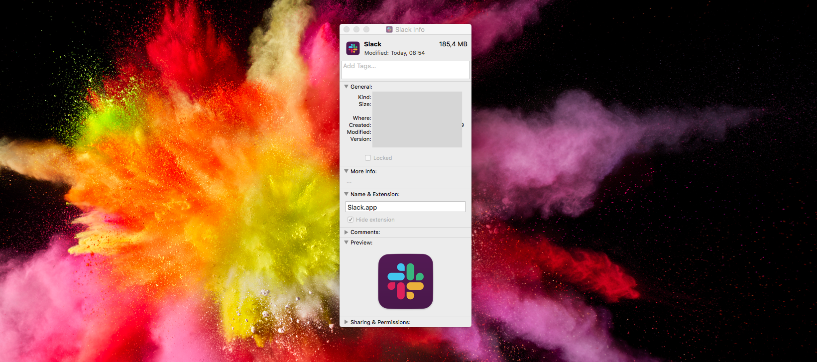 Cách thay đổi logo Slack trên máy Mac của bạn 3