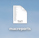 a text file