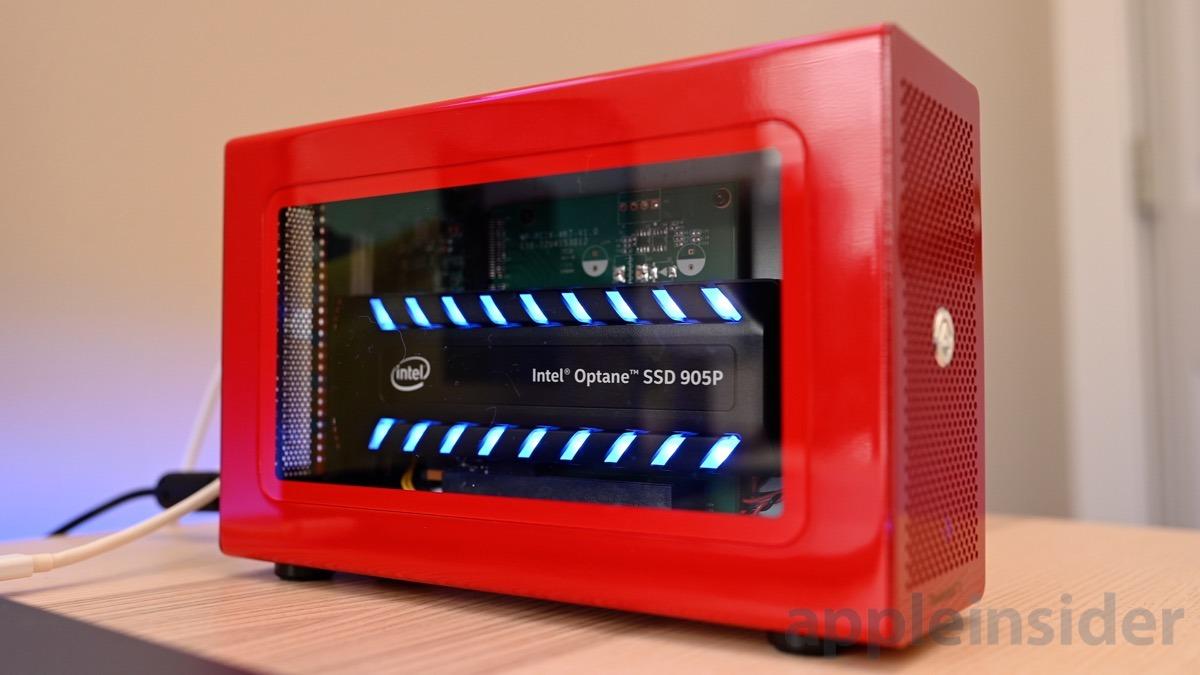 Revisión: Thunderbolt 3 Akitio Node Lite e Intel Optane 905P SSD ofrece una velocidad de blister continua