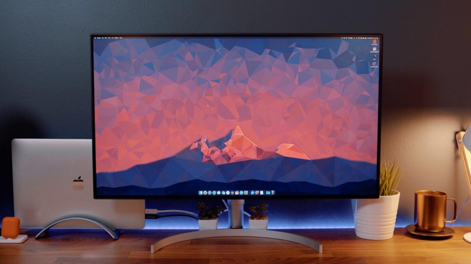 Practique con la última pantalla UltraFine 4K de LG con soporte Thunderbolt 3