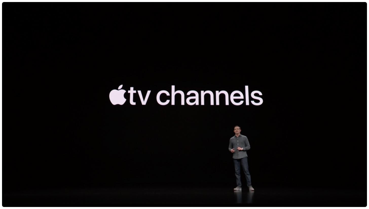 Practique con los próximos canales de Apple TV en la aplicación de TV revisada