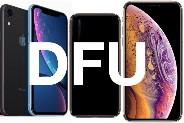 How to enter and exit DFU mode on iPhone XS, XR, XS Max