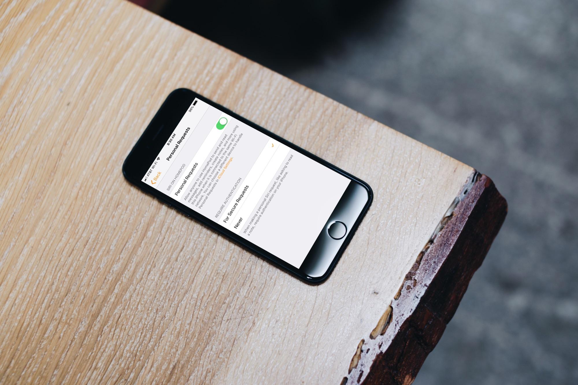 Kuinka ottaa käyttöön ja käyttää Sirin henkilökohtaisia pyyntöjä HomePodilla