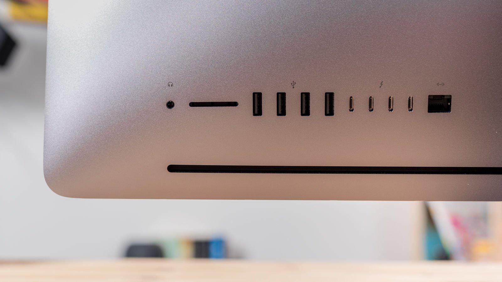iMac Pro y iMac de 27 pulgadas: puerto