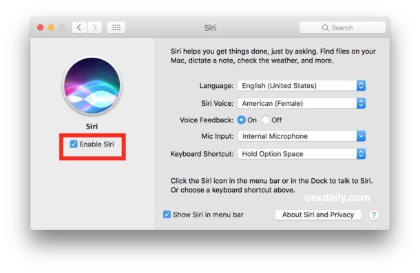 Cómo obtener Hey Siri en Mac no compatible