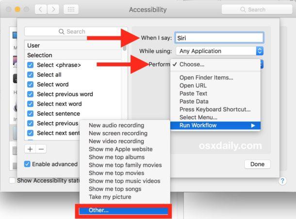 Habilitando Hey Siri en Mac no compatible