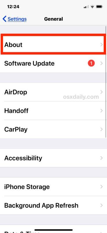 Cómo encontrar qué versión de iOS se está ejecutando en iPhone o iPad