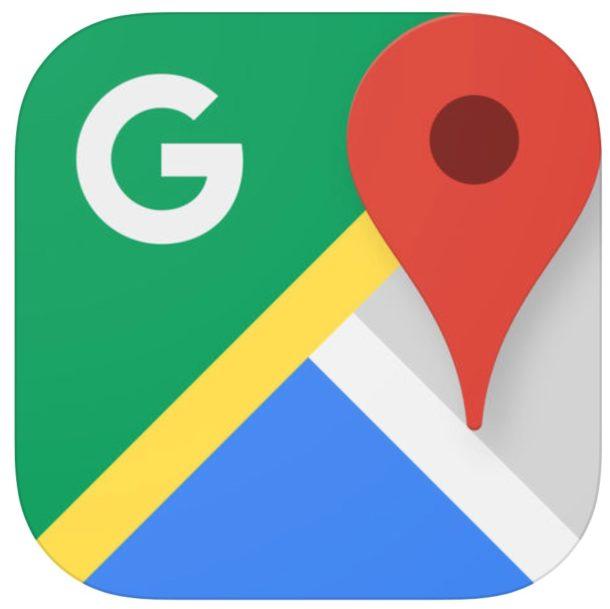 El icono de Google Maps