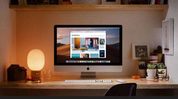 configuración de iMac