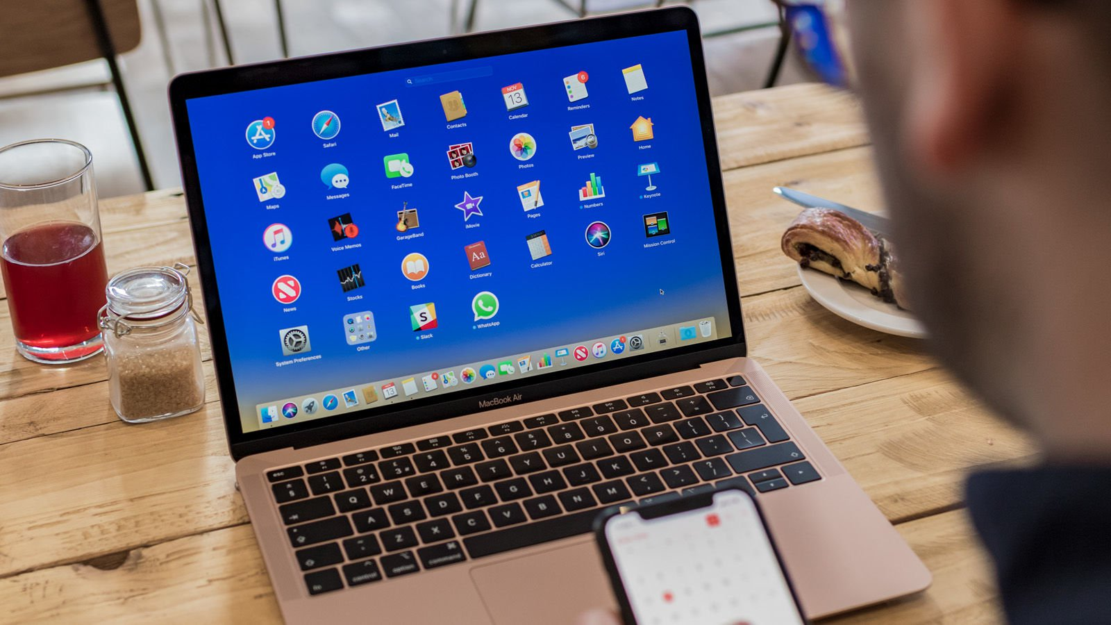 Pantalla retina del MacBook Air 2018