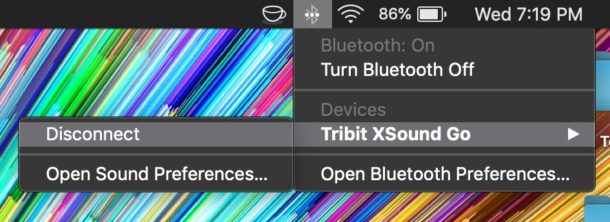 Cómo desconectar un dispositivo Bluetooth de Mac sin quitarlo