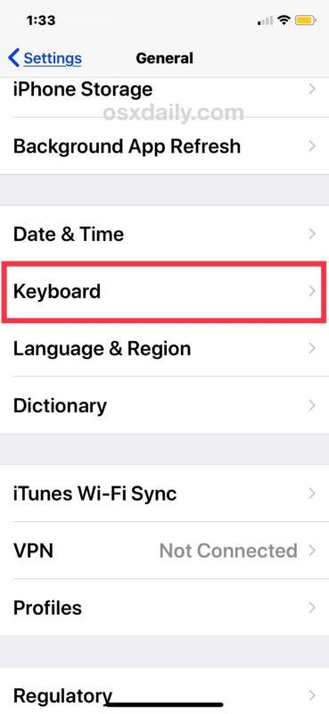 Cómo quitar el micrófono del teclado iOS