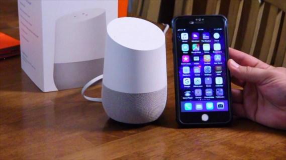 Cómo emparejar una casa de Google con un iPhone