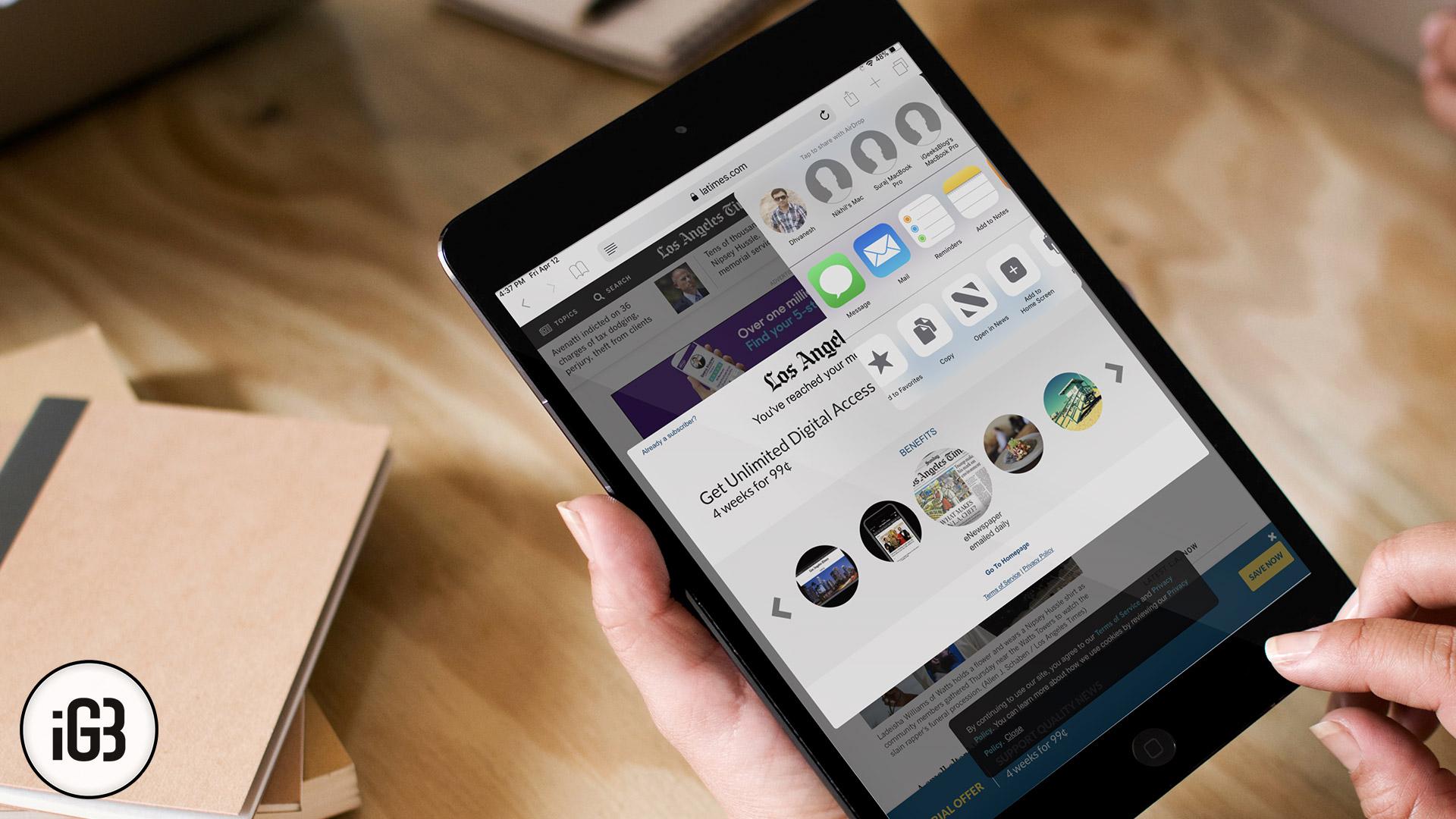 Cómo leer cualquier artículo de Paywalled de WSJ o LA Times usando Apple News +