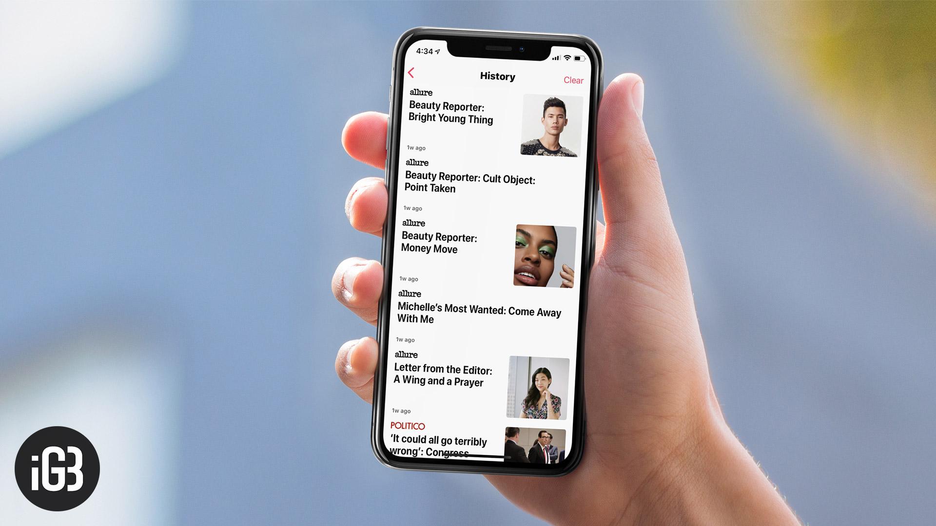 Guía completa para usar la aplicación Apple News en iPhone y iPad