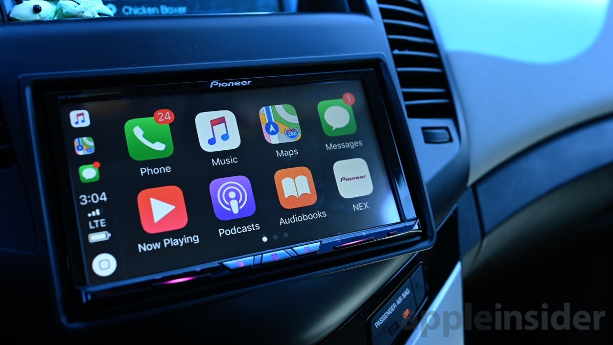Revisión: Pioneer AVH-W4400NEX receptor de prueba inalámbrica CarPlay es el camino a seguir