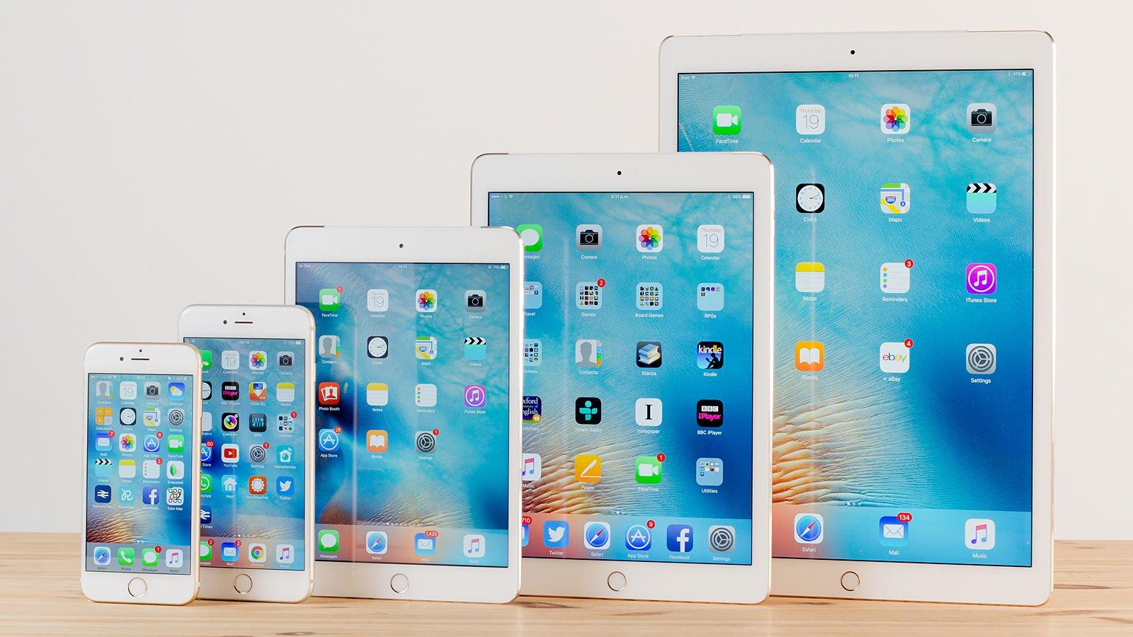 iPads y iPhones