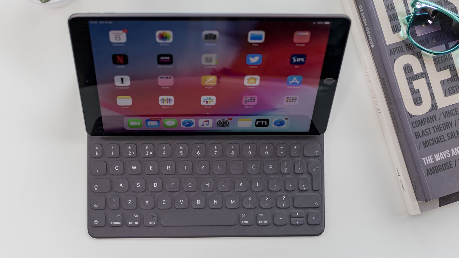 Revisión de iPad Air (2019): revestimiento antirreflectante para pantallas