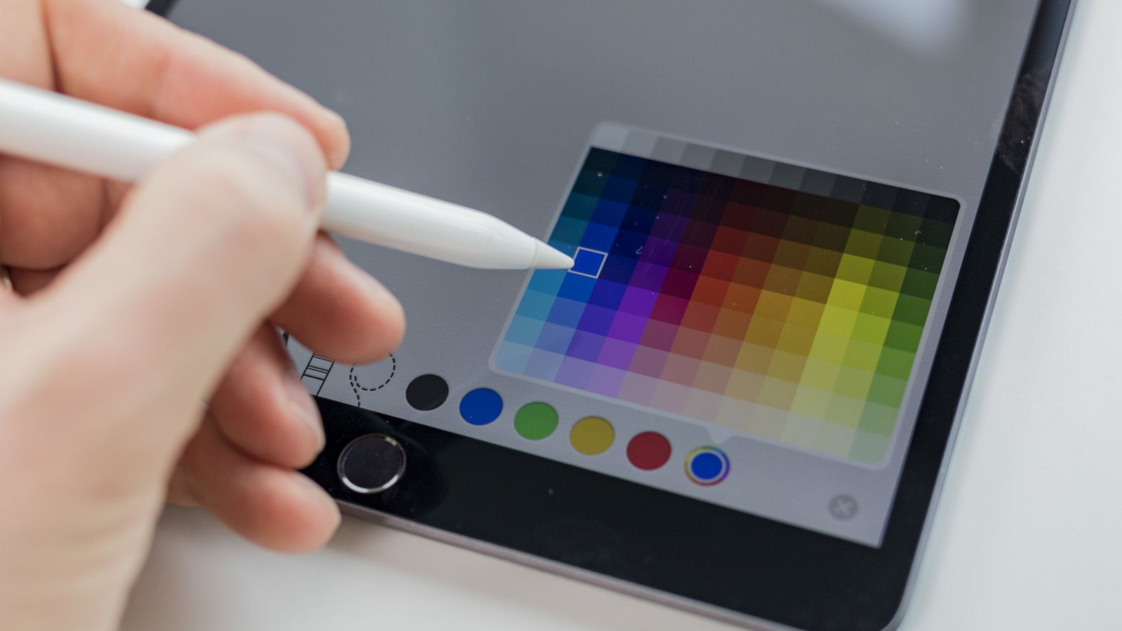 iPad Air (2019) Comentarios: Soporte Apple Pencil