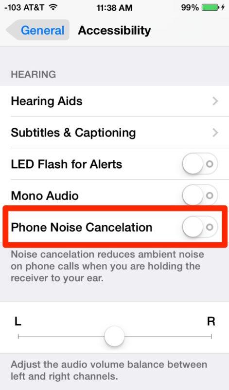 Desactivar la cancelación de ruido del teléfono en iPhone puede ser útil para resolver problemas de sonido de llamadas
