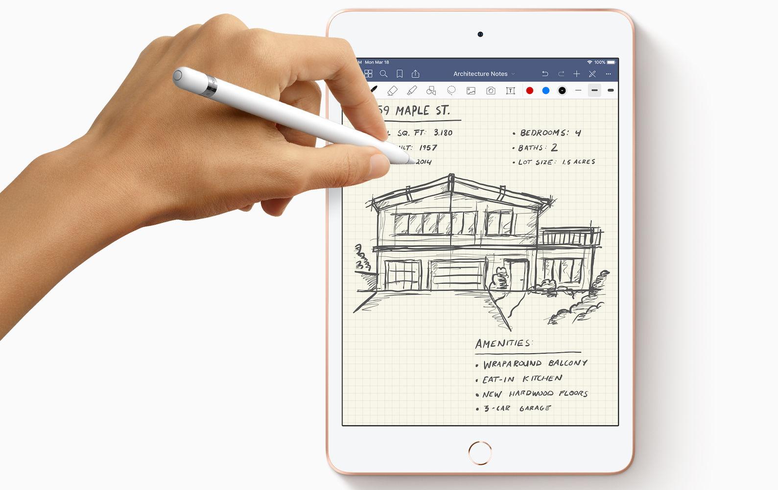 Nuevo iPad Mini y Lápiz