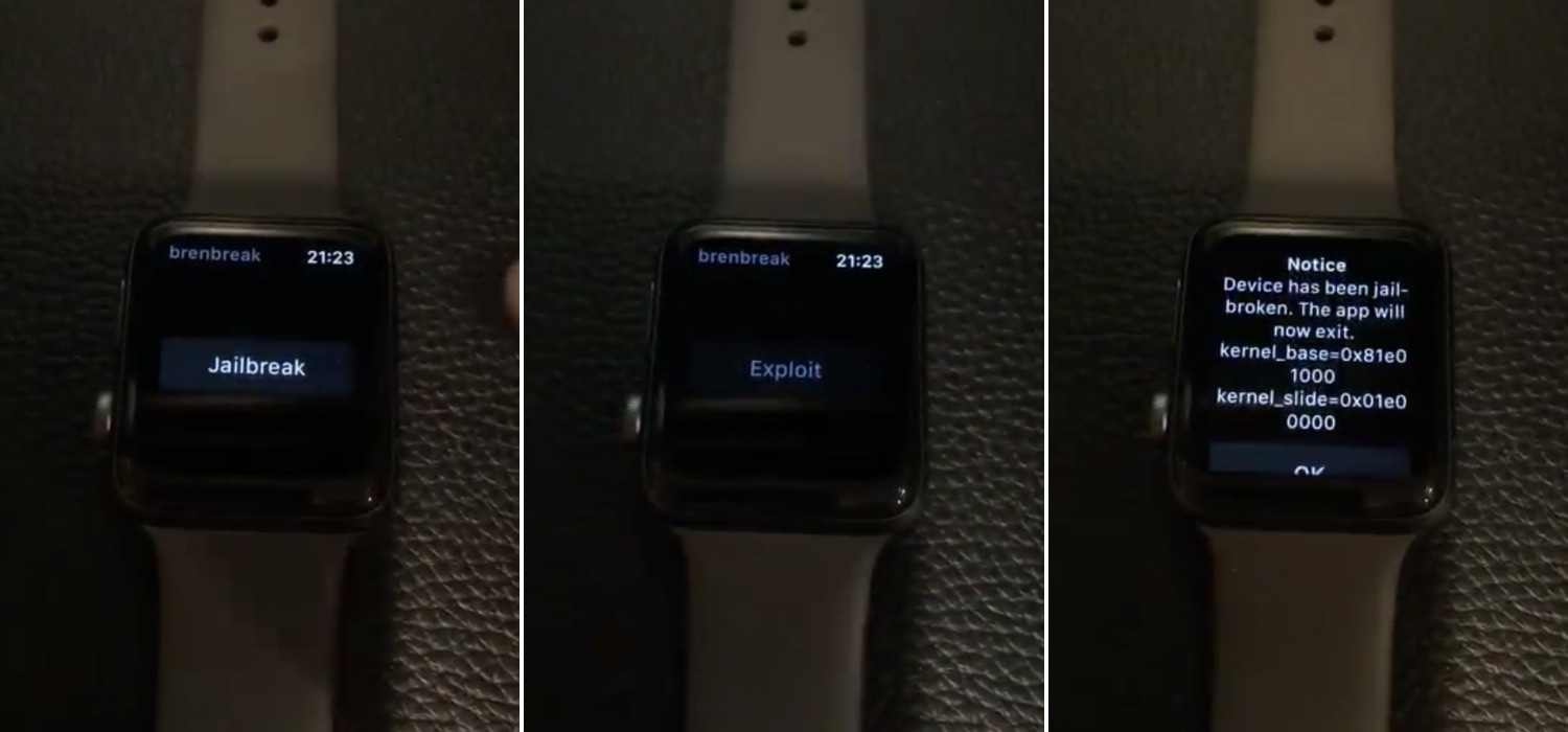 "The developer behind ""Brenbreak"" Apple Watch jailbreak tempts SSH capabilities 1"
