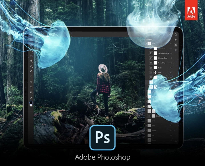 Adobe envía las primeras invitaciones beta para Photoshop CC para iPad