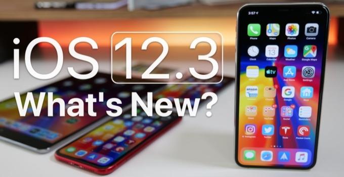 <pre>Descargue iOS 12.3 (final) para iPhone, iPad y iPod