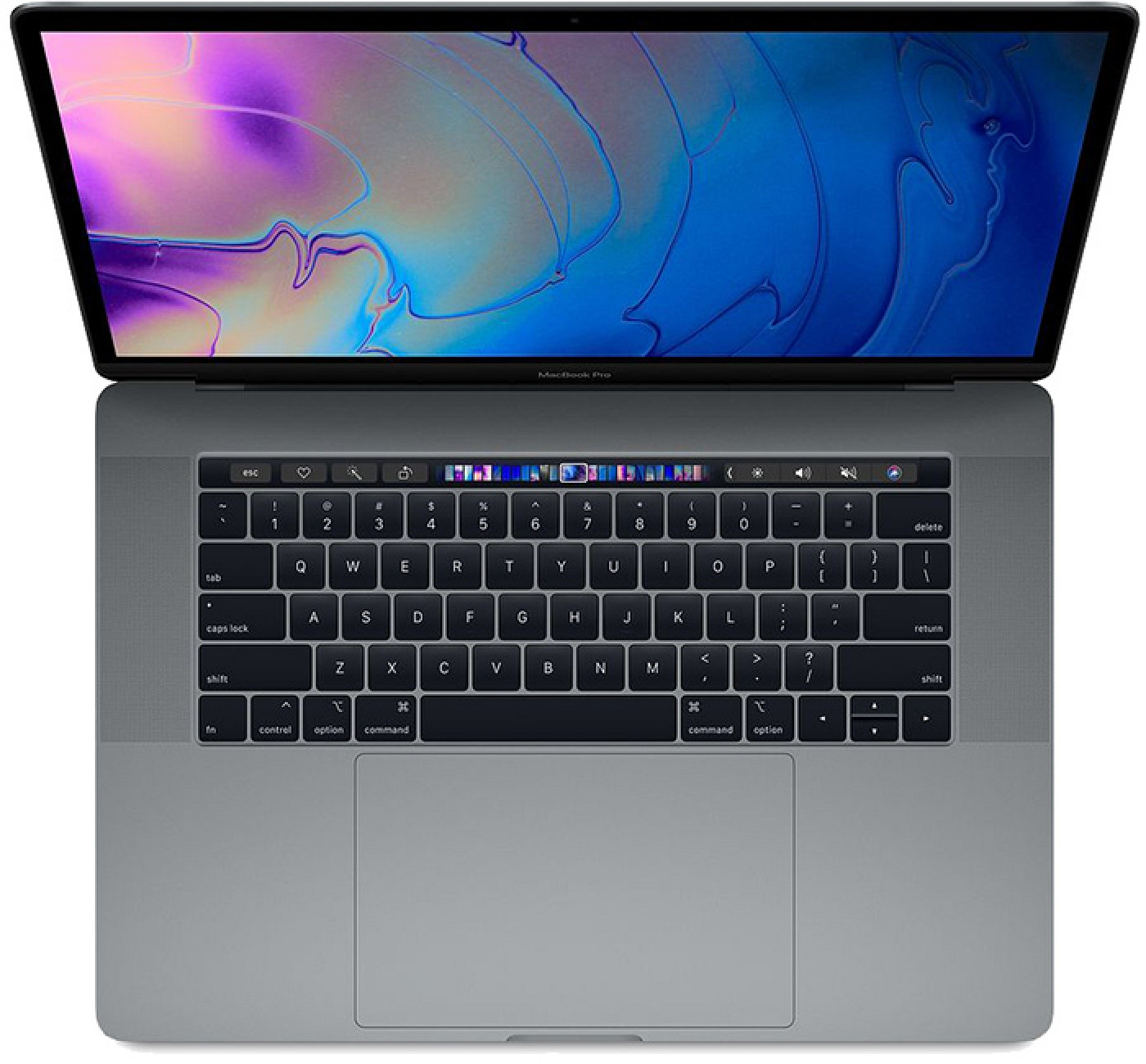 The MacBook Pro with Touch Bar