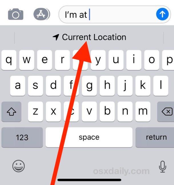 Cómo compartir la ubicación actual de los mensajes en iPhone de forma rápida