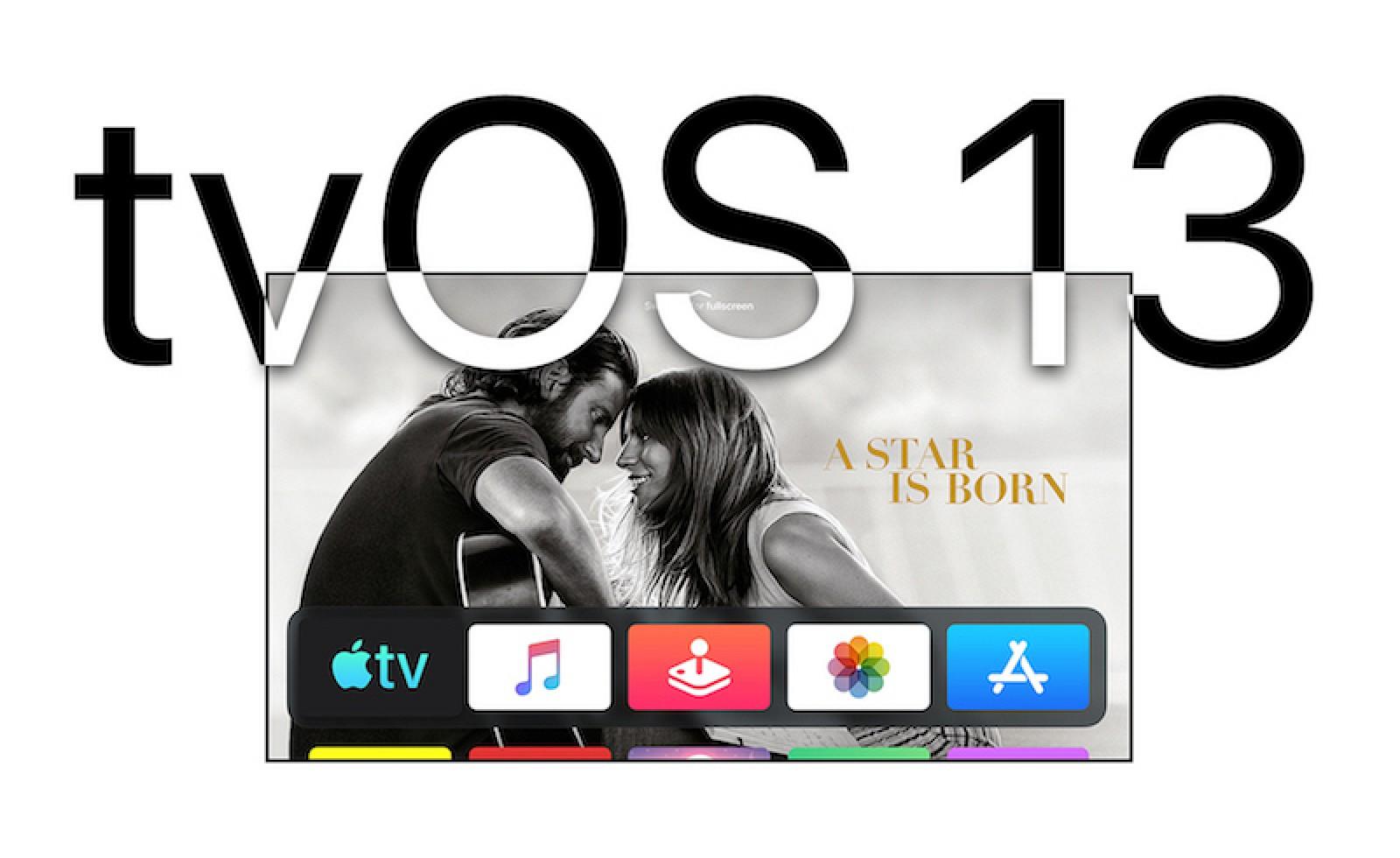 Apple Seeds First Beta de TVOS 13 a Public Beta Testers