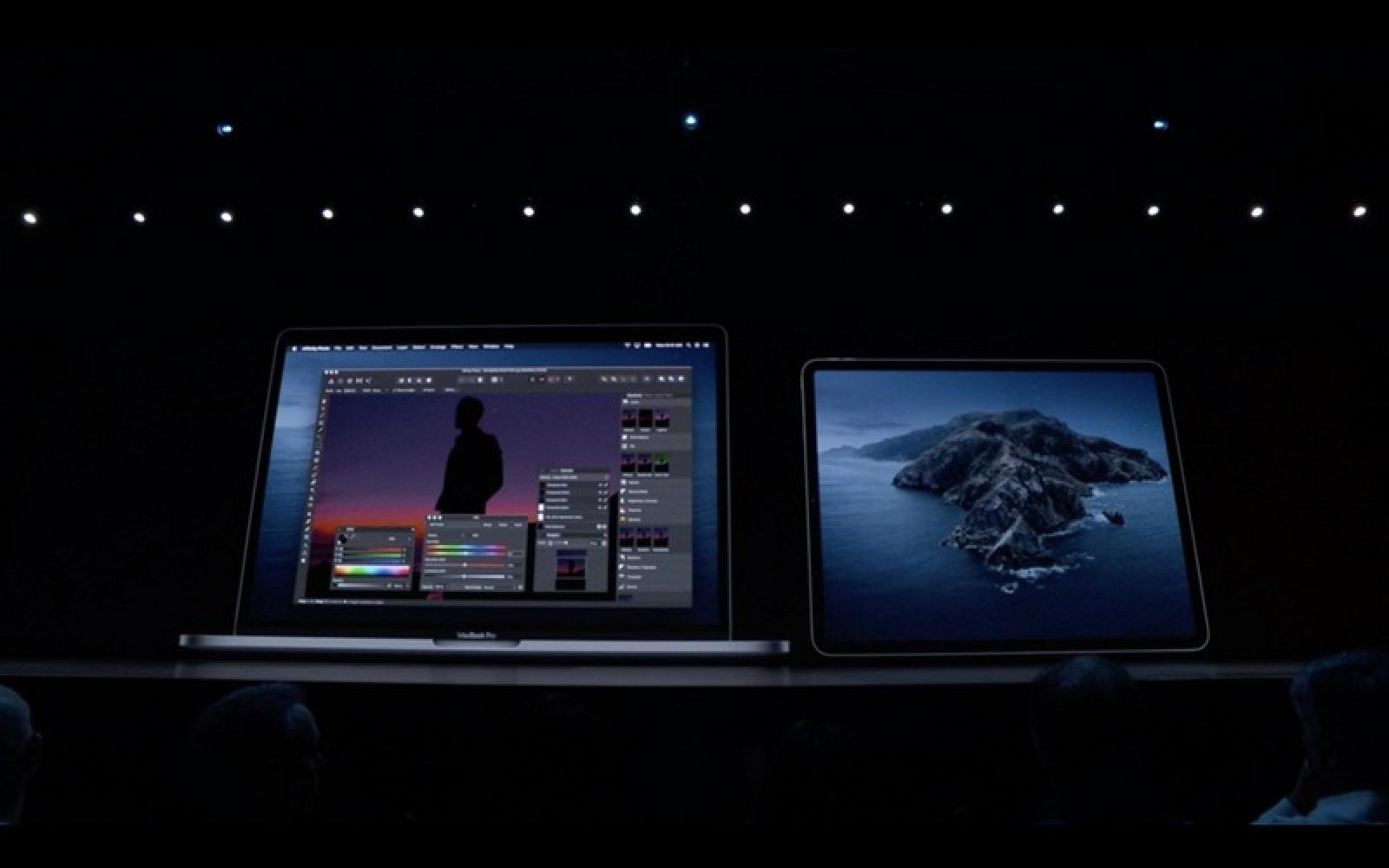 Apple presenta la aplicación Sidecar para usar un iPad como pantalla secundaria de Mac