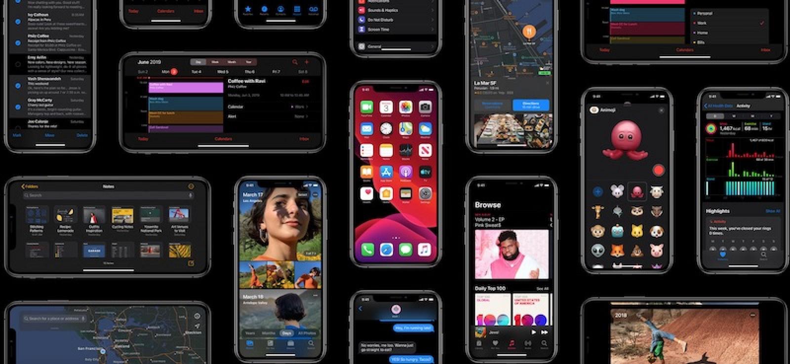 Cómo habilitar el modo oscuro en iOS 13
