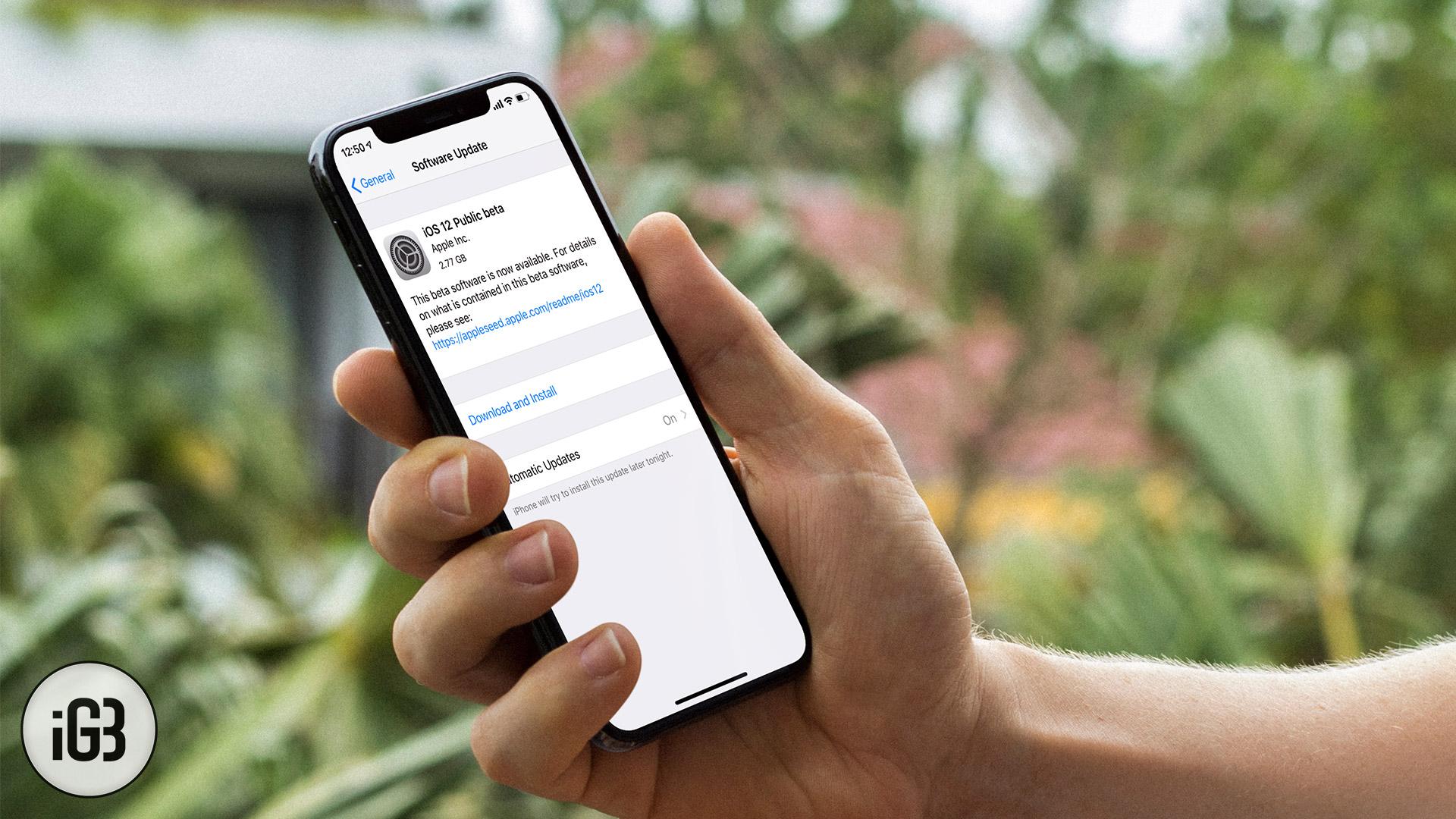 Cómo instalar iOS 12.4 Public Beta 3 en iPhone y iPad