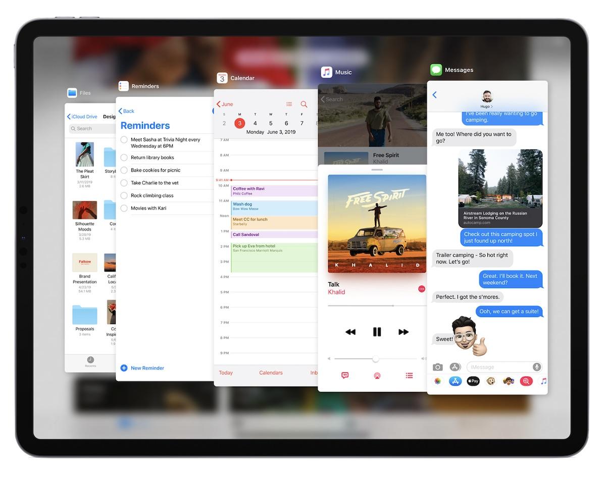 Los ejecutivos de Apple comparten más pensamientos sobre iPadOS y el nuevo servicio de inicio de sesión seguro