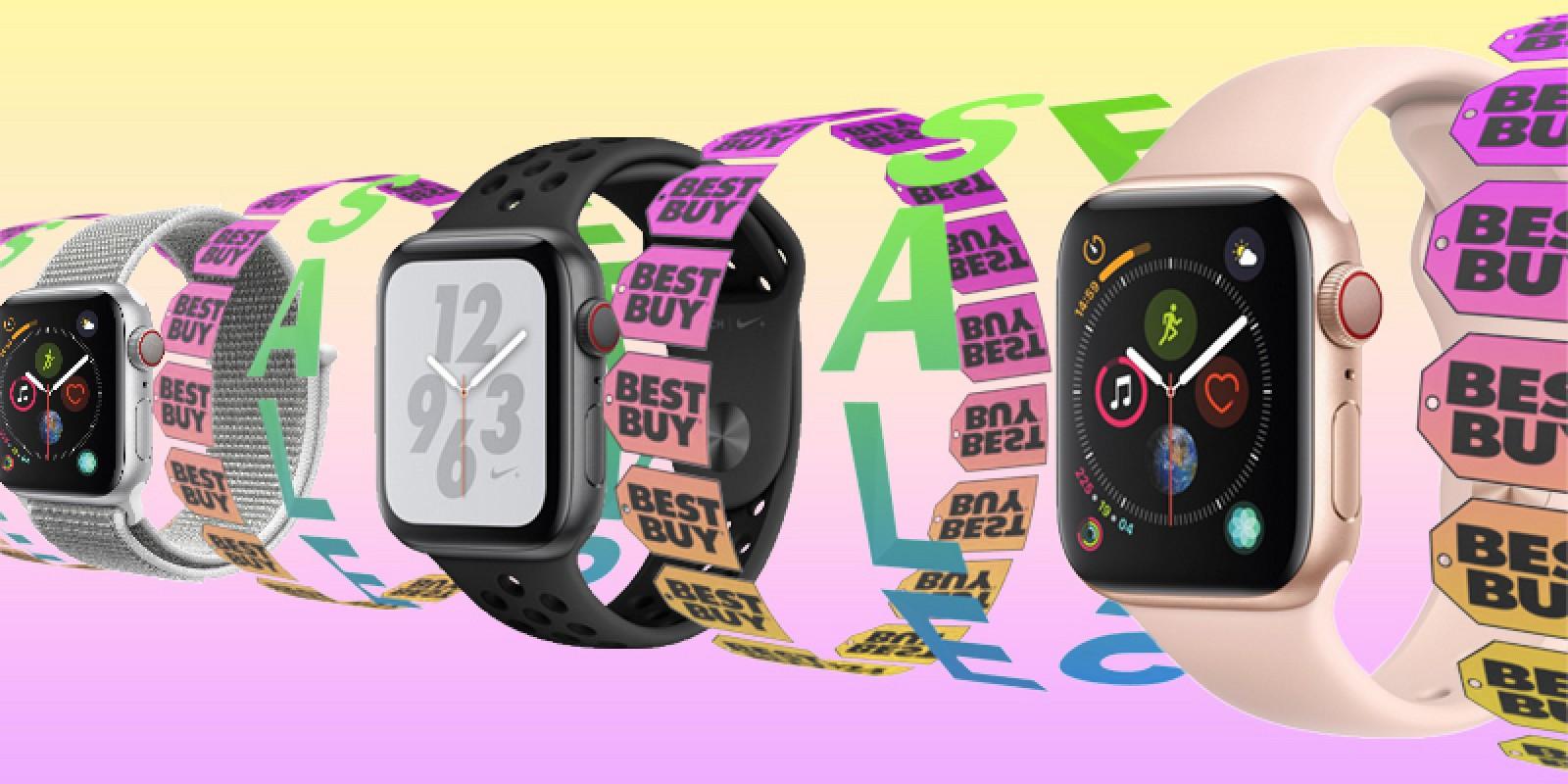 Ofertas destacadas: Best Buy lanza una venta enorme con descuentos de Apple Watch Series 3 ($ 80 de descuento) y Series 4 ($ 50 de descuento)