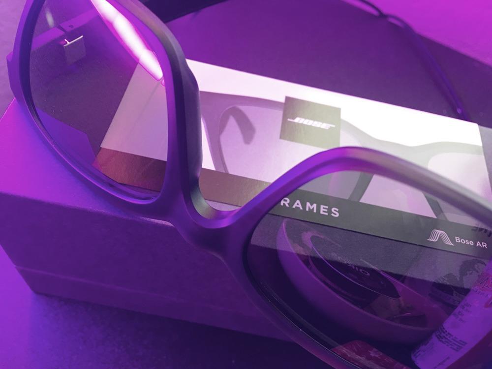 Revisión: Frames Bose llevar una cuchilla en gafas de sol de audio conectadas al iPhone