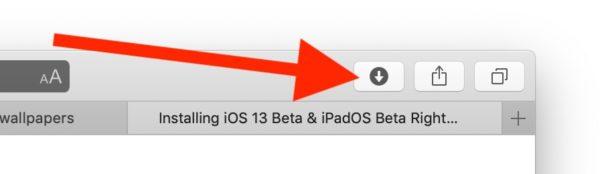 Cómo acceder a las descargas de Safari en Mac para reanudar las descargas detenidas