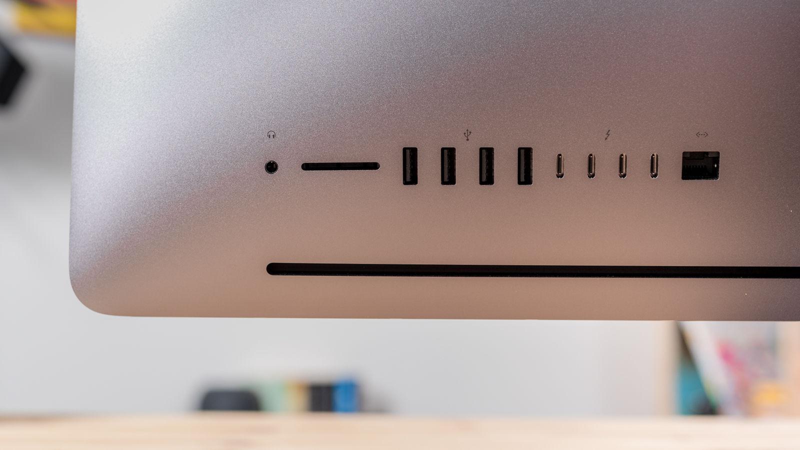 Mac Pro vs. iMac Pro: Puertos