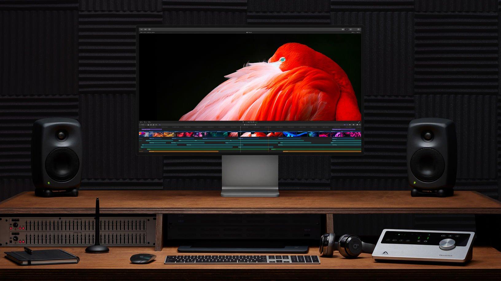 Apple Pro Display Comentarios XDR: Diseño frontal