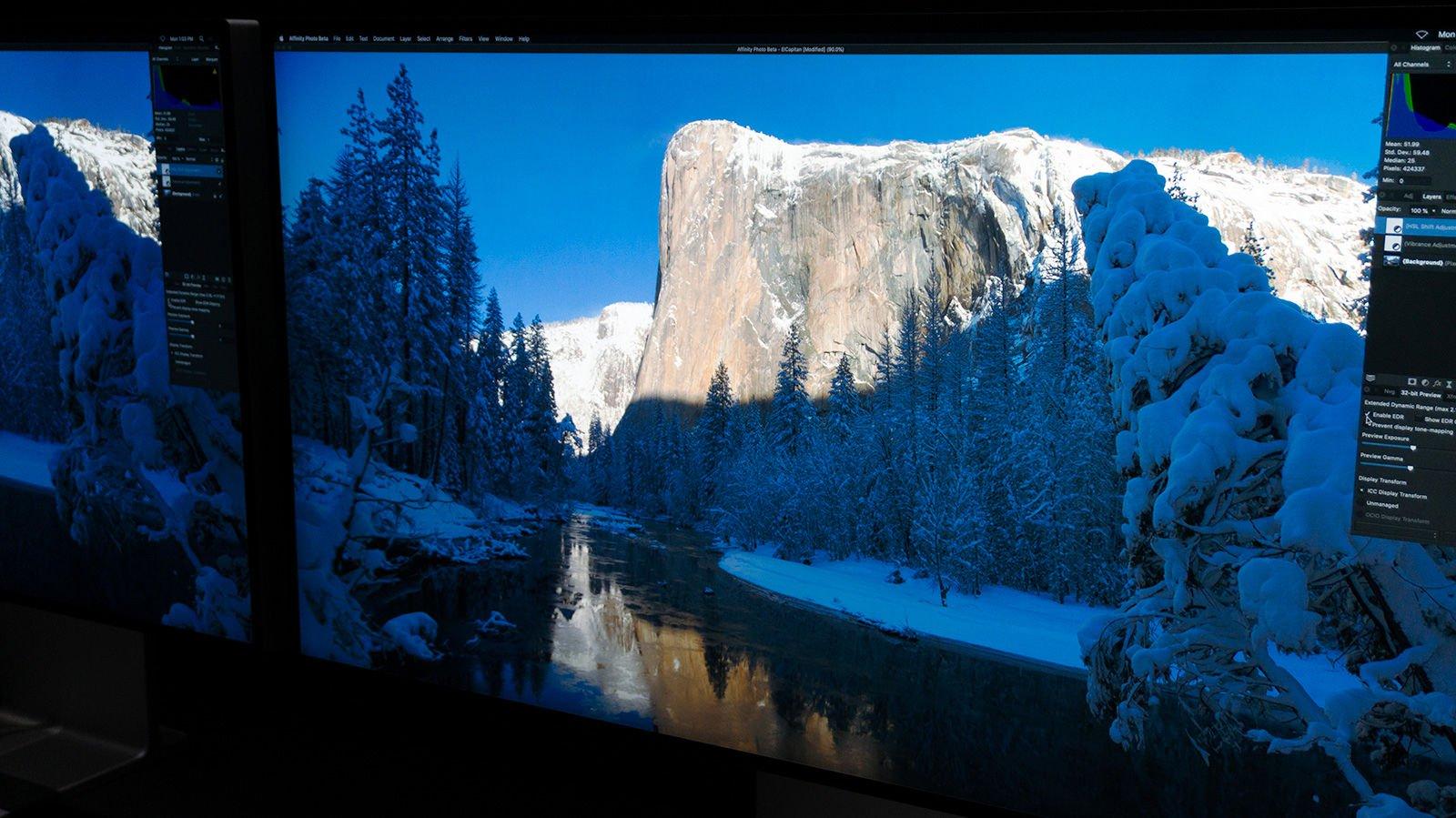 Apple Pro Display XDR: utilizando EDR