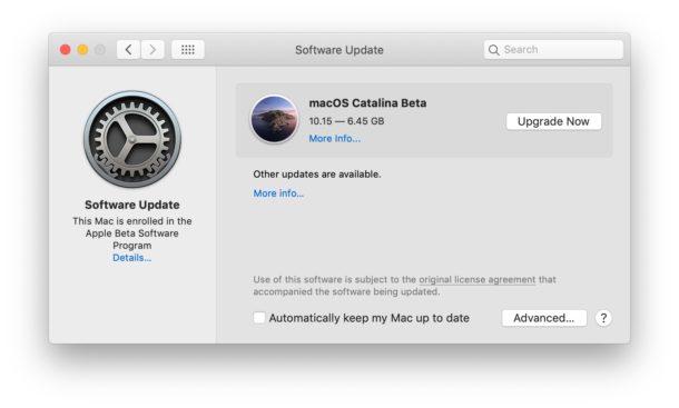 Descarga la beta pública de MacOS Catalina