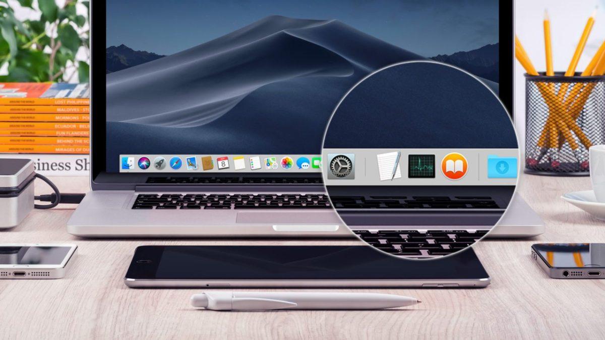 macOS Mojave: desactiva las aplicaciones recientes para eliminar iconos de base extra