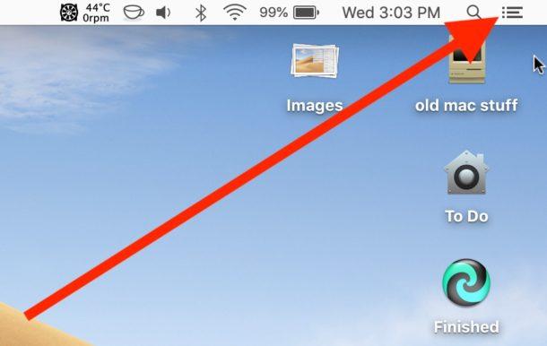 Cómo habilitar el modo No molestar en Mac de forma rápida