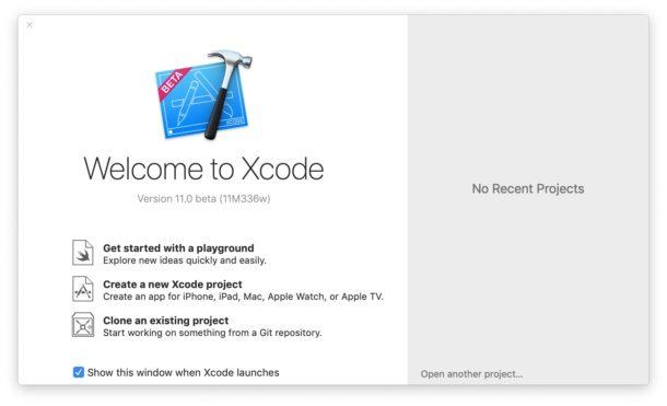 Xcode es necesario para instalar iOS 13 beta