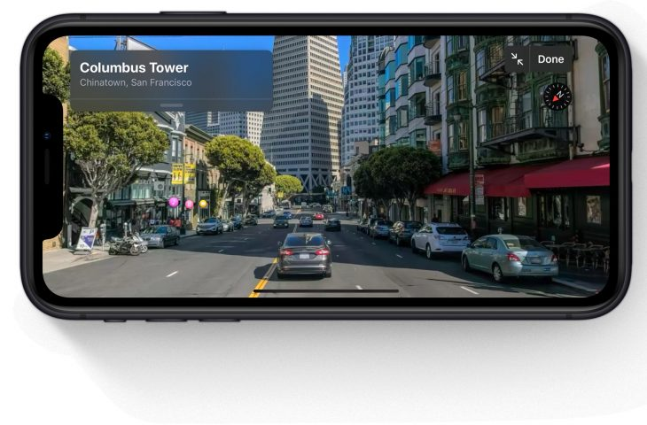 Siete años después del fallido debut de Maps, Apple le muestra a Google cómo se debe hacer Street View correctamente