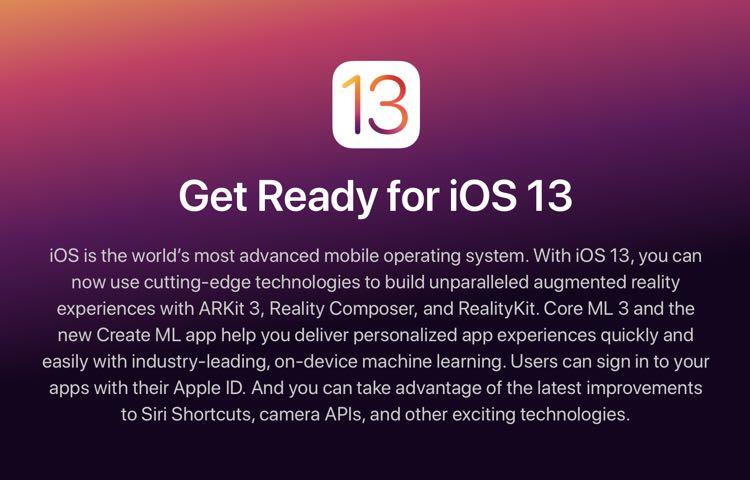 Cómo instalar el iOS o iPadOS 13 beta