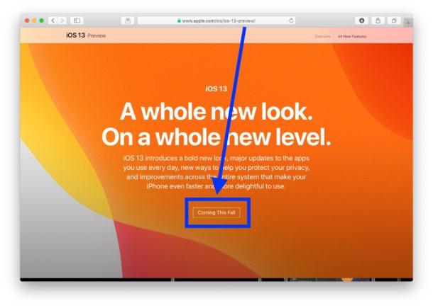 Fecha de lanzamiento de IOS 13 establecida para el otoño de 2019