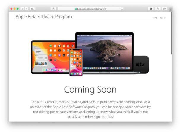 MacOS Catalina beta pública en julio