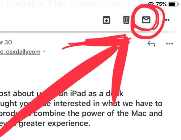 Cómo marcar el correo electrónico como leído o no leído en Gmail